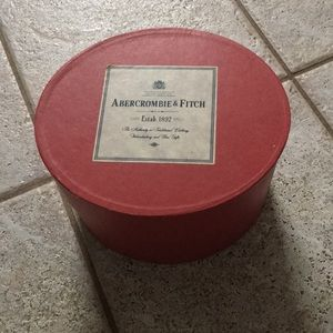Abercrombie & Fitch vintage tie box